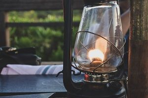 candil oil lamp